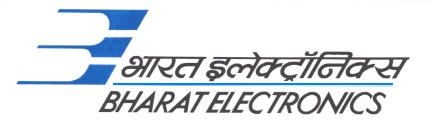 Bharat Electronics Limited,(BEL) Openings For GRADUATE ENGINEERS & HR Professionals