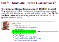 How To Check For Availability Of Dates For GRE Test
