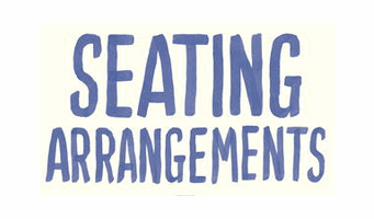 Seating Arrangement – 1